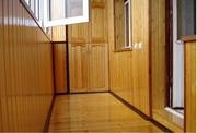 Внутренняя отделка балкона пластиковыми панелями,  вагонкой,  мдф