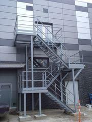 Испытания пожарных и эвакуационных лестниц и кровельных ограждений